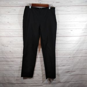 Vince Camuto sz 4 black flat front slim fit pants